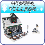 Winter village logo